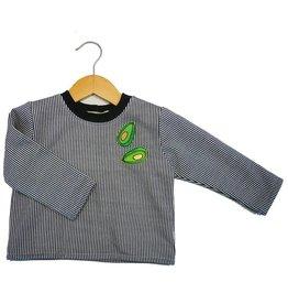 Supayana Striped Sweatshirt w Avocado