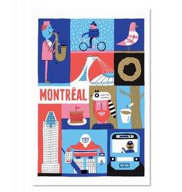 Paperole Carte Postale MTL