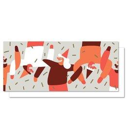 Paperole Danse en Ligne Greeting Card