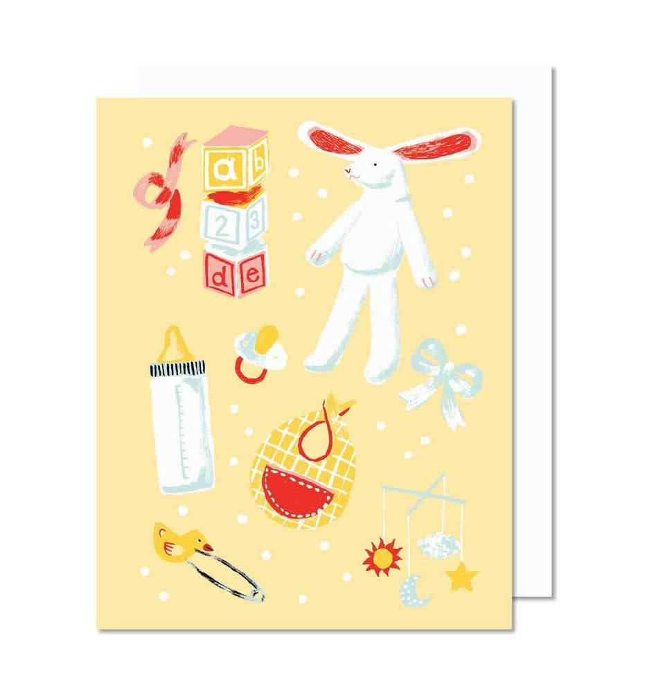 Paperole baby greeting card boutique evelyne paperole paperole baby greeting card m4hsunfo