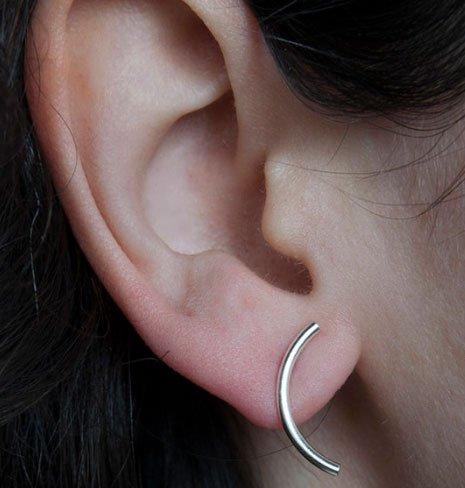 Pilar Agueci Peter Polished Earrings