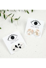 Oeil Noir Oeil Noir Round Earrings