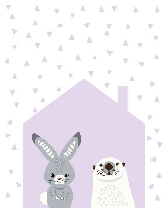 Lolly and Max Lolly and Max Affichette 8 x 10