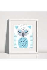 Lolly and Max Lolly and Max Sleeping Animal Print 8 x 10