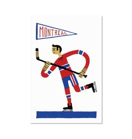 Paperole 8 x 10 Hockey Print