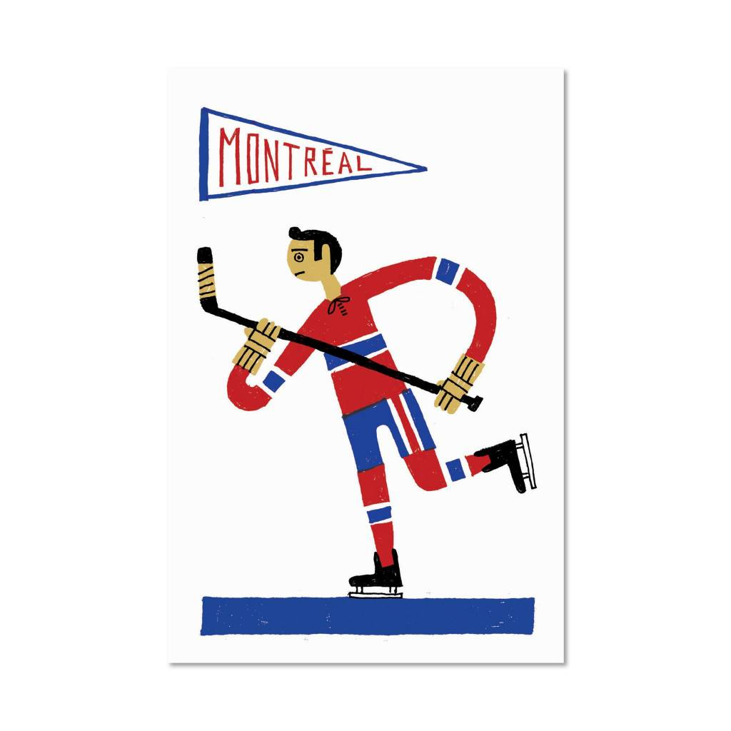 Paperole Paperole 8 x 10 Affichette Hockey