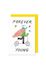 Paperole Forever Young Greeting Card