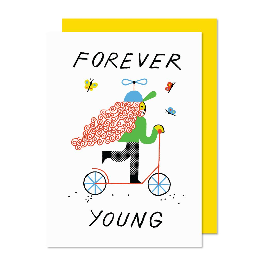 Paperole Forever Young Greeting Card Boutique Evelyne
