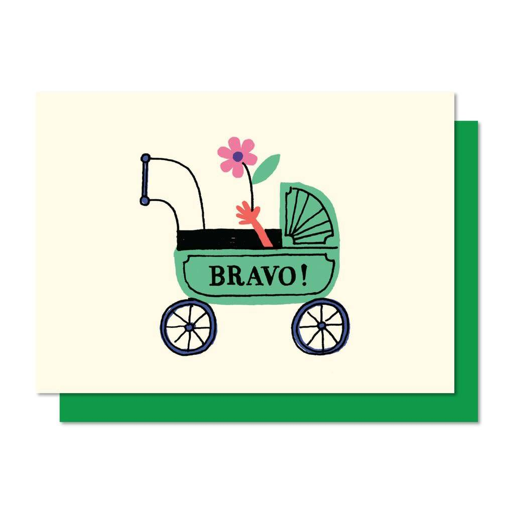 Paperole Bravo Greeting Card