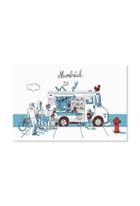 Paperole Foodtruck Postcard