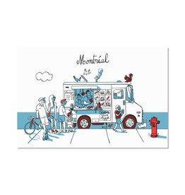 Paperole Carte Postale Foodtruck