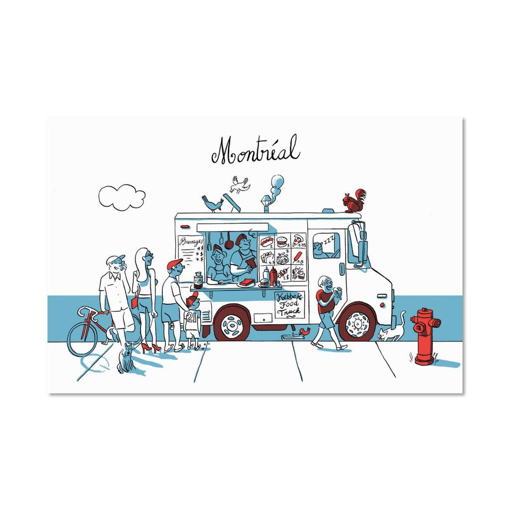 Paperole Paperole Carte Postale Foodtruck