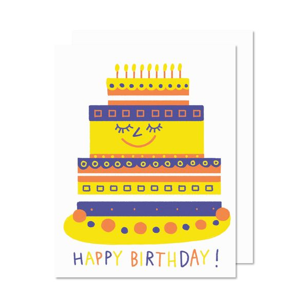 Paperole Cake Greeting Card