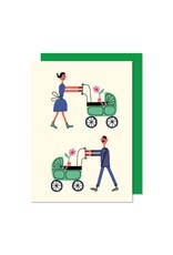 Paperole Famille Greeting Card