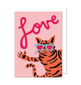 Paperole Carte Love Cat