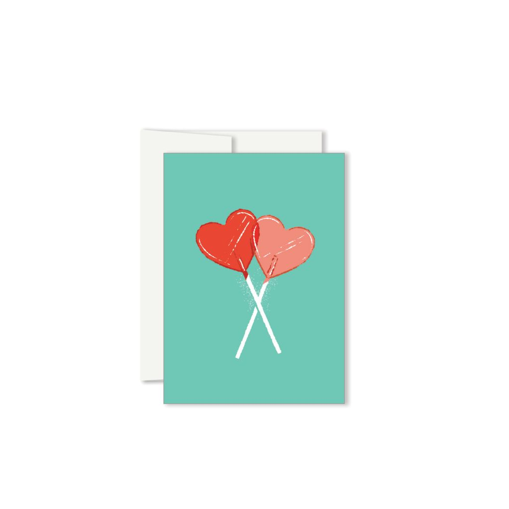 Paperole Mini Candy Greeting Card