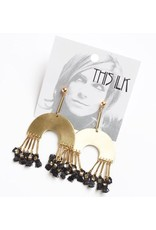 This Ilk This Ilk Dunning Earrings - Black