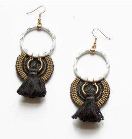 This Ilk Musk Earrings - Black