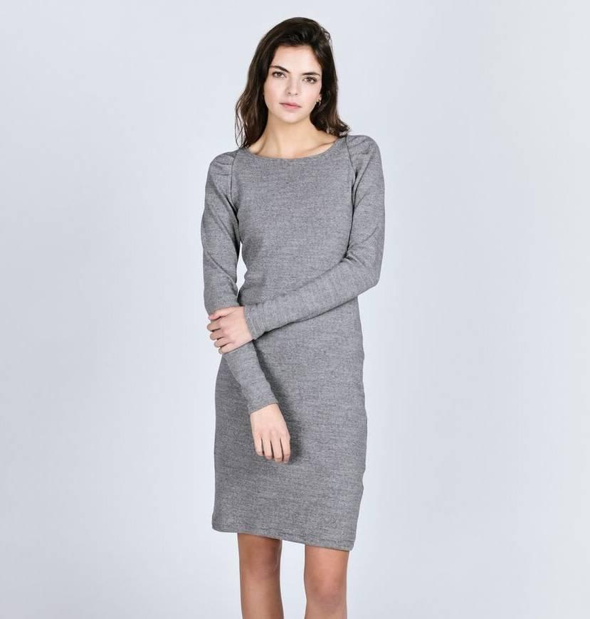 Pillar Aspen Dress - Grey