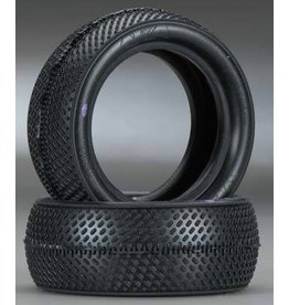 AKA Products Racing Vektor 2.2 Front 4WD Buggy Tires (Clay) (2)