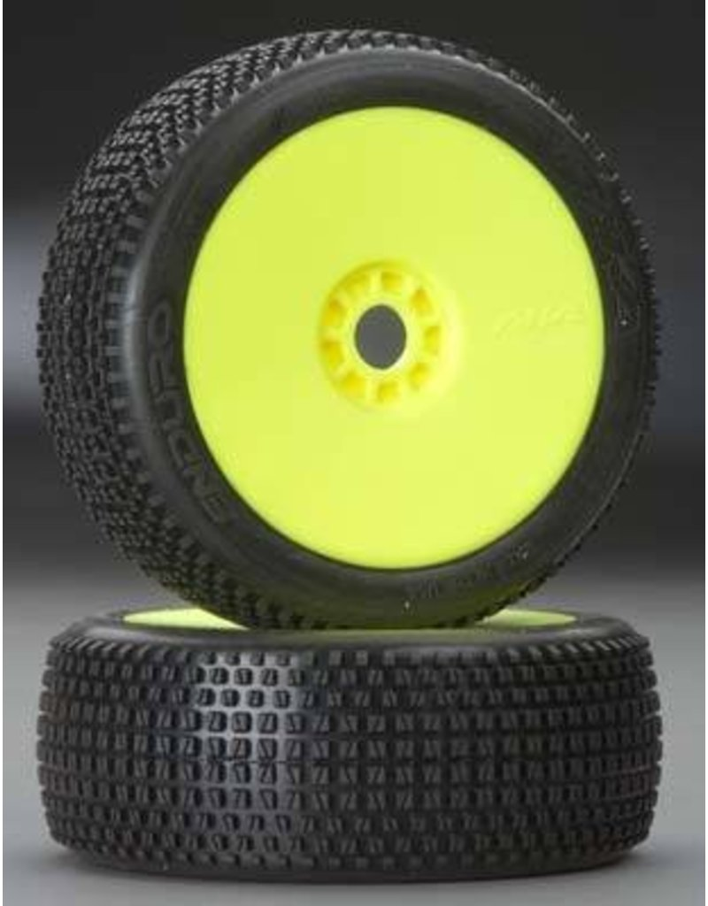AKA Products 1/8 Buggy Enduro Super Soft Evo Premount Yellow (2)