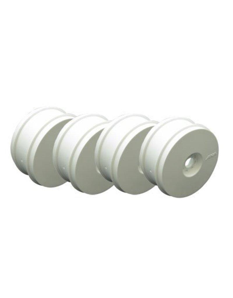 AKA Products 1/8 Buggy Wheels White (4)