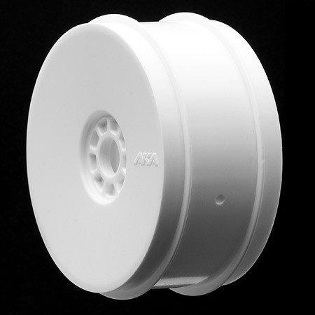 AKA Products 1/8 Buggy EVO Wheels, White (4)