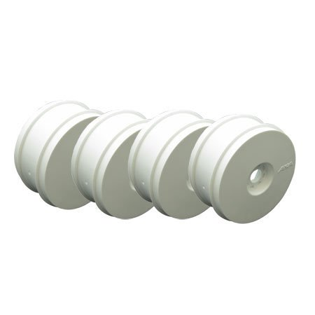 AKA Products 1/8 Buggy Wheels White (4)