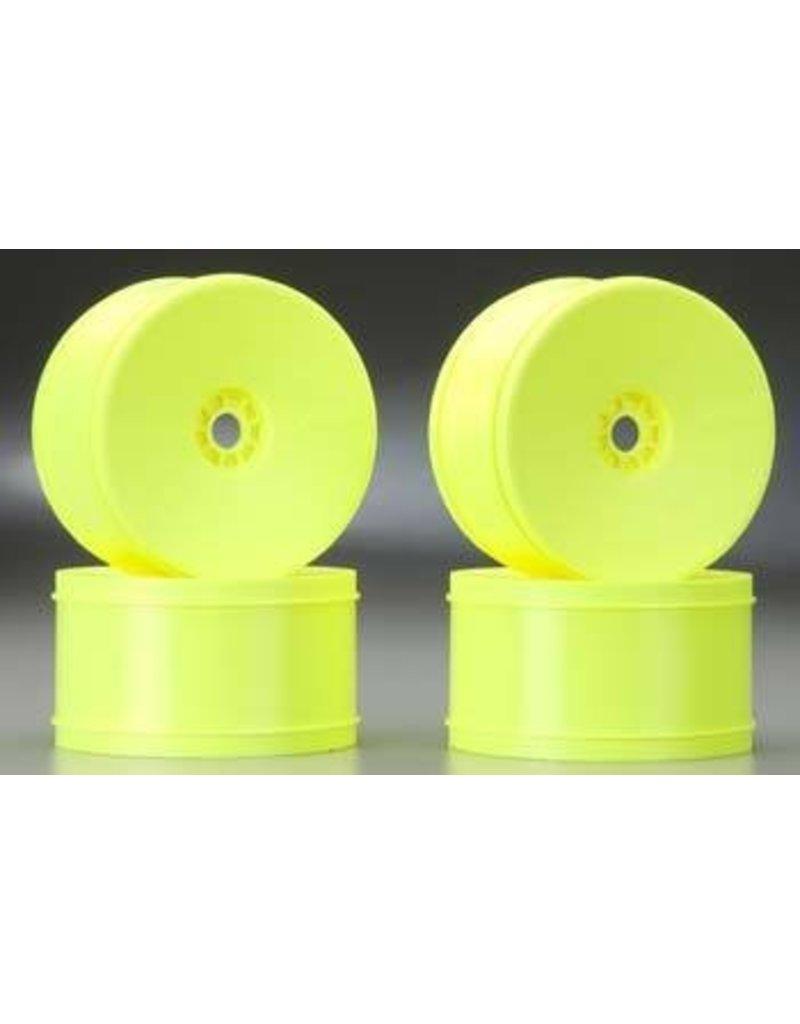 AKA Products 1/8 Truggy Evo Wheel (Yellow, 4)
