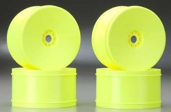 AKA Products 1/8 Truggy Evo Wheel (Yellow, 4)