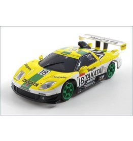 Kyosho Mini-Z Autoscale NSX 2003 (Takata Dome No. 18, Yellow/White/Green)
