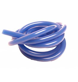 Racers Edge 100cm Silicone Fuel Tubing (Solid Blue)