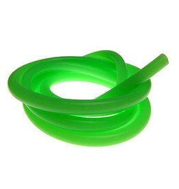 Racers Edge 100cm Silicone Fuel Tubing (Solid Green Color)