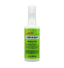 Pacer ZAP A Gap CA+ Glue, 2 oz (Green Label)