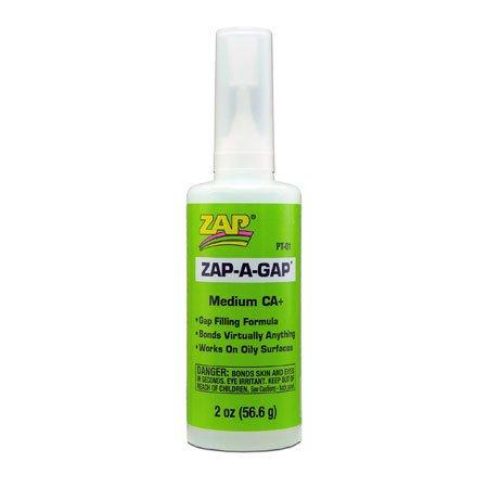 Pacer ZAP A Gap CA+ Glue, 2 oz (Green Label)