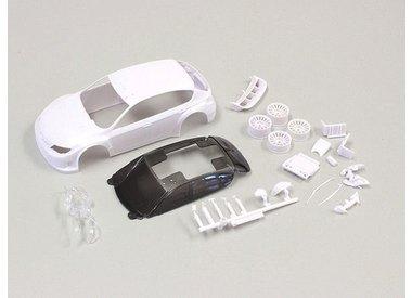 Mini-Z White Body Sets