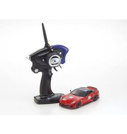 Kyosho MR-03S2 Mini-Z Racer ReadySet w/Ferrari 599xx Body & KT-19 2.4GHz Transmitter (No. 3 Red)