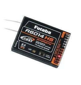 Futaba R6014HS 2.4G FASST Hi-Speed (1-6) Rx 14Ch