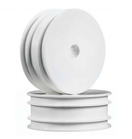 "Associated B4 2.2"" Front Buggy Wheels (White)"