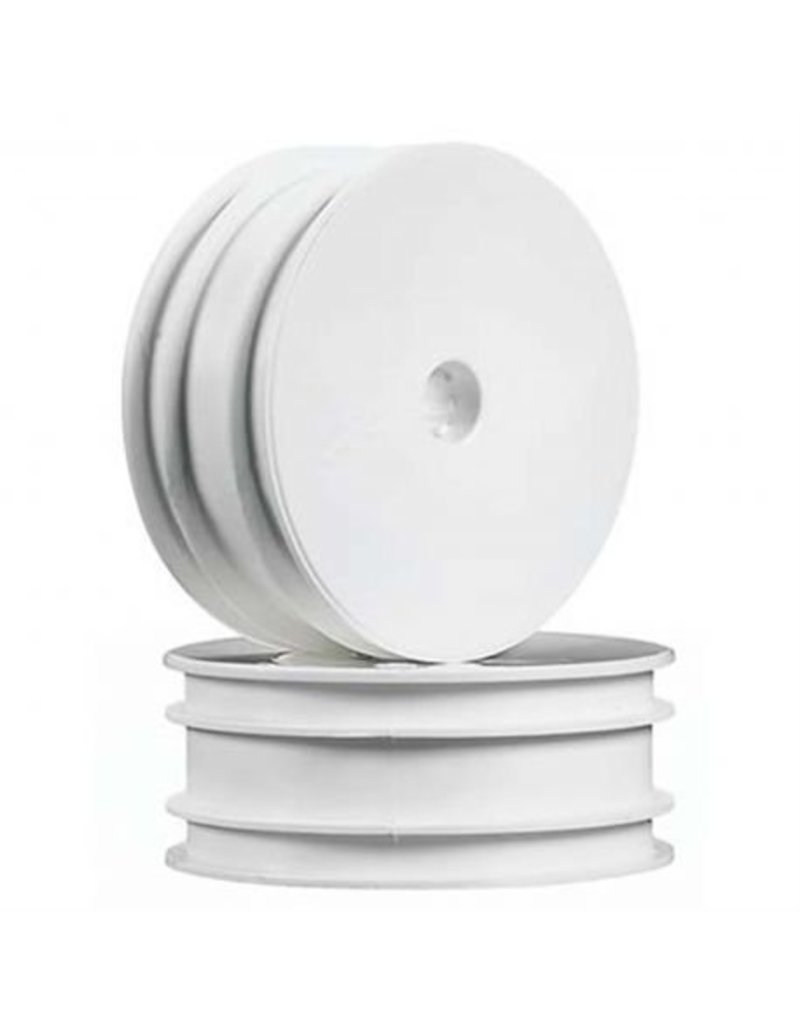 """Associated B4 2.2"""" Front Buggy Wheels (White)"""