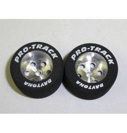 Pro-Track Corporation 1/8 x 27mm x 18mm Natural Rear Tires (1pr)