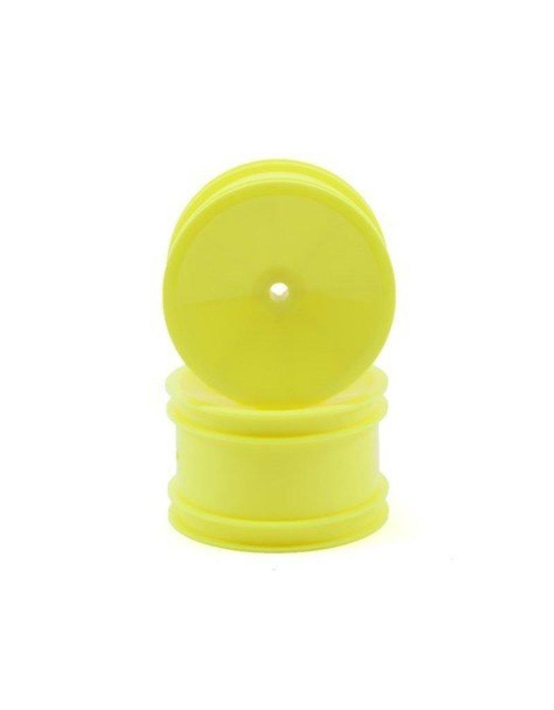 "Associated B4 Rear 2.2"" Buggy Wheels (Yellow)"