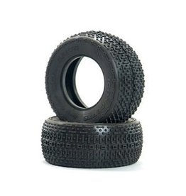 JConcepts Goose Bumps Tire, Green:3.0 x 2.2 Short Course (2)