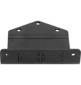 Associated Nose Plate Black RC10 Classic