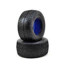 JConcepts Dirt Webs Short Course Tires (2) (Gold) w/Foam