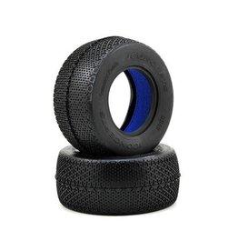 JConcepts Pressure Points Short Course Tires (2) (Blue)