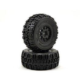 Pro-Line Trencher X SC Tires w/Renegade Wheels (2) (Slash Rear) (Black) (M2)