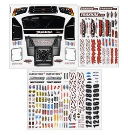 Traxxas Decal Sheet: Slash 4x4