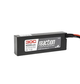 Dynamite Reaction 7.4V 4000mAh 2S 30C LiPo Hard Case w/EC3