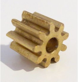H&R Racing Brass Pinion 48P 9T (1)
